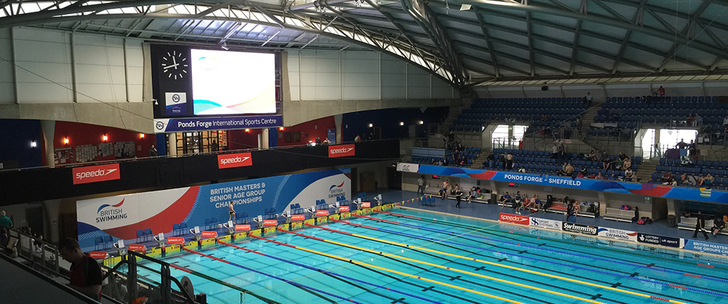 Ponds Forge swimming pool